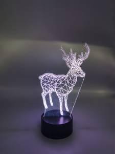 Bilde av 3D hjortelampe